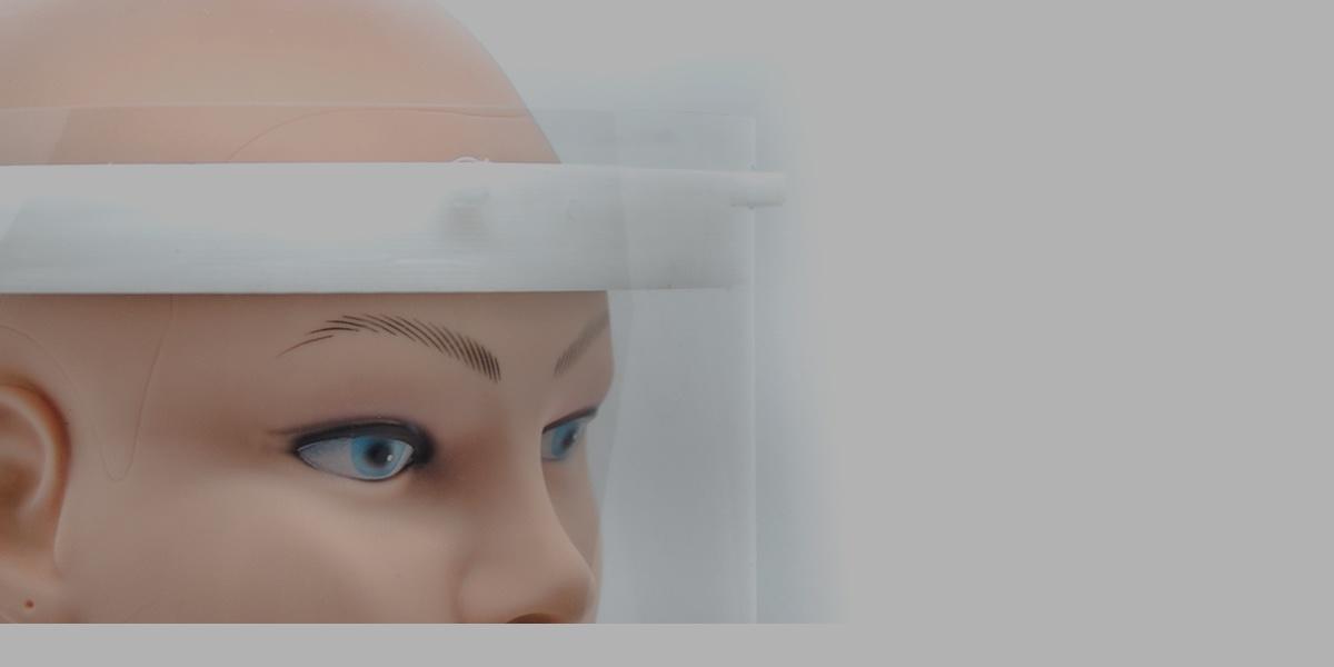 Mascherine lavabili e visiere protettive